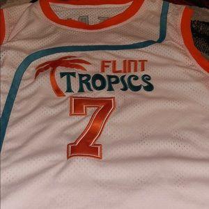Flint tropics jersey basketball